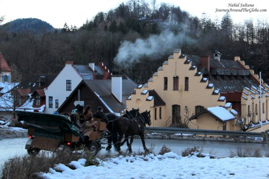 Loved the wintry look of Bavaria...classic