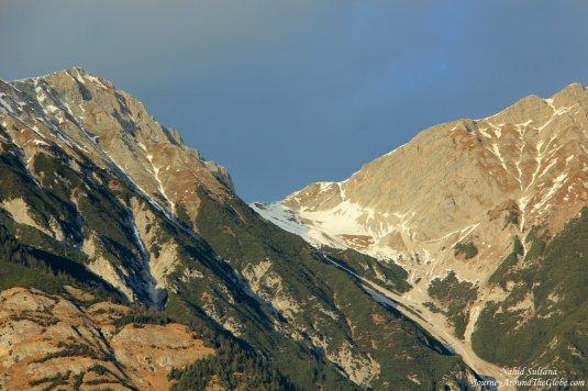 Austrian Alps in Innsbruck