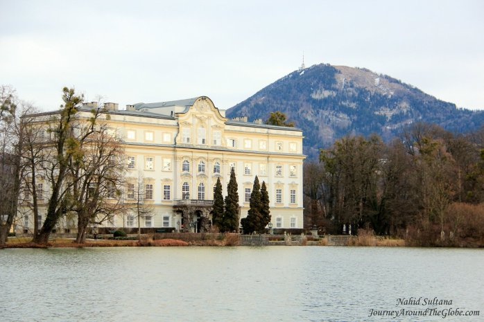 "Leopoldskron Palace was used to shoot all the ""backyard"" scenes of Julie Andrews' ""Sound of Music"""
