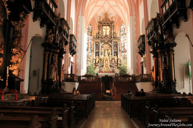 """The """"Wedding Church"""" where Captain and Maria got married in the movie"""