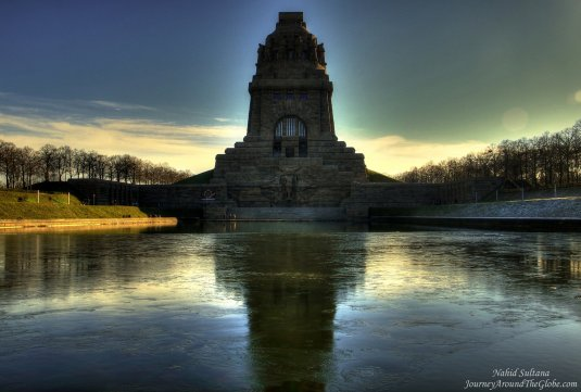 Battle of the Nations Monument in Leipzig, Germany - the biggest monument in Europe