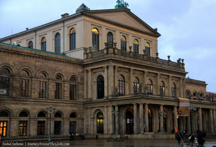 Hannover Opera House in Germany