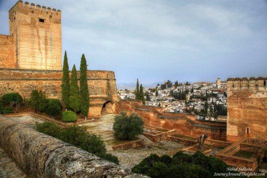 Alhambra overlooking Granada