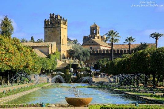 Alcazar de los Reye Cristianos in Cordoba, Spain.