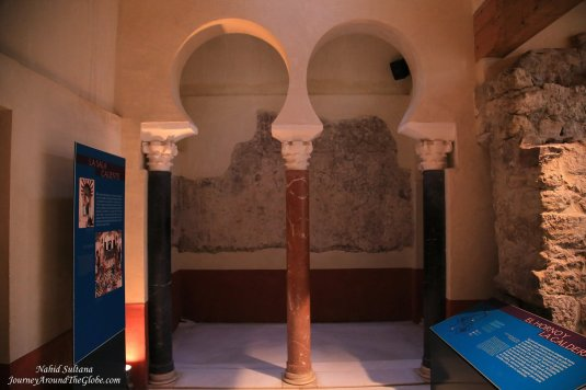 Some tragic events took place at this very hall during Umayyad dynasty in Cordoba, Spain