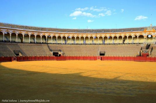 Seville Bullring in Spain