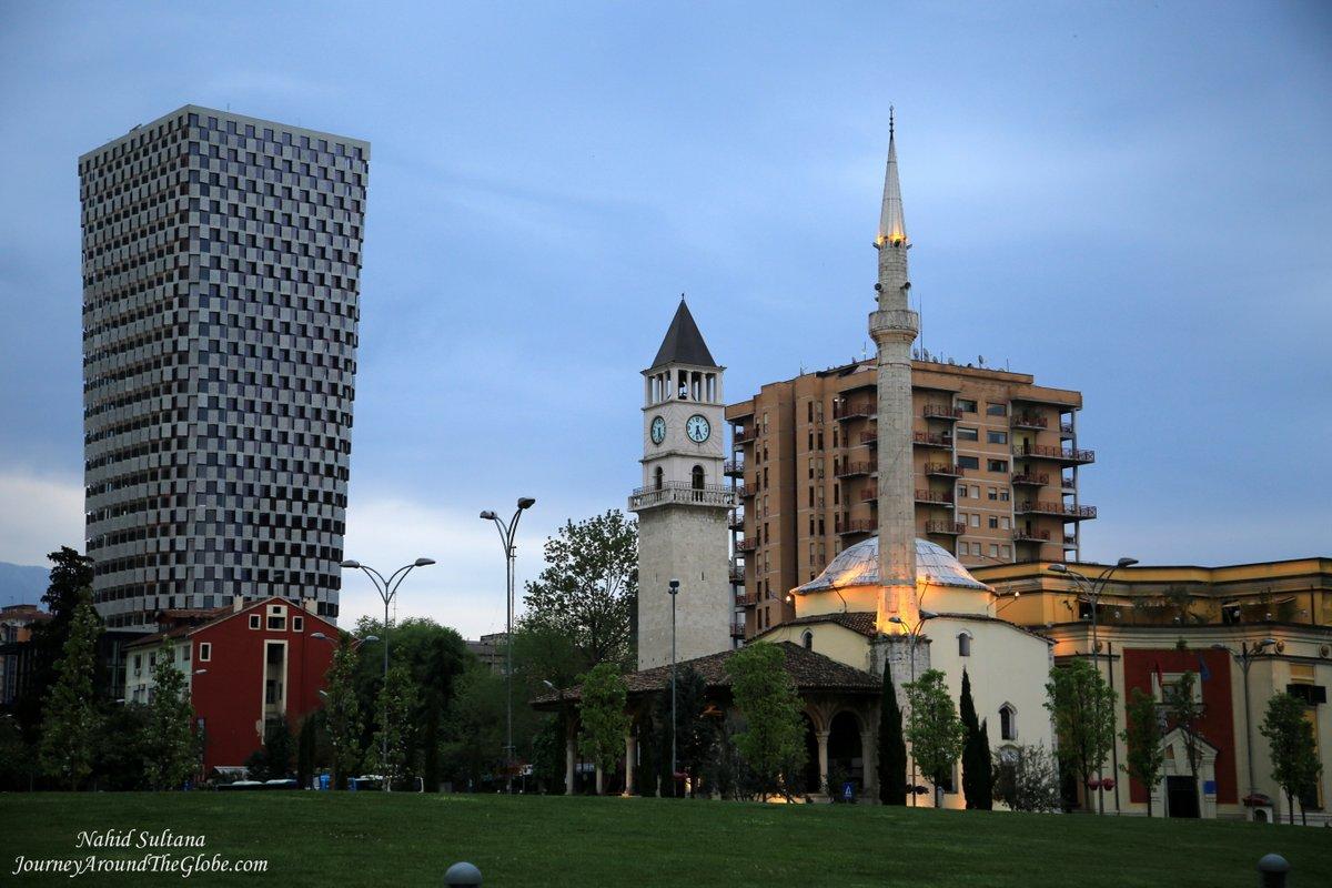Tirana Albania  city photos : The main square of Tirana, Albania