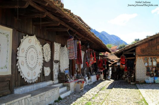 Old market of Kruja, Albania
