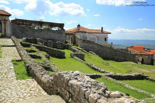 Some more ruins of Kruja Castle in Albania