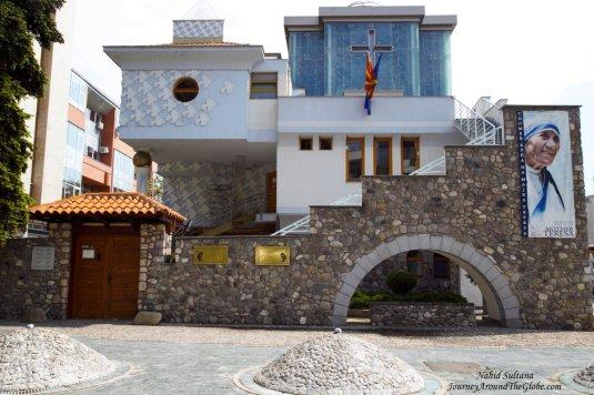 Mother Teresa's Birthplace and Memorial in Skopje, Macedonia