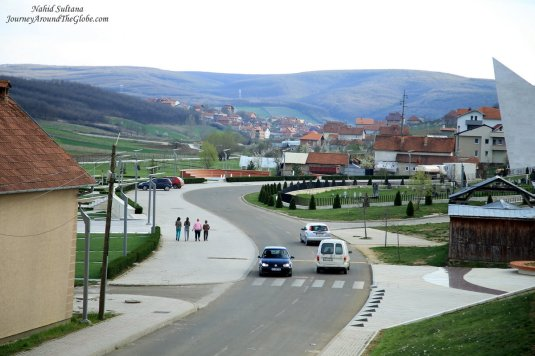 Prekaz - a small town in Kosovo