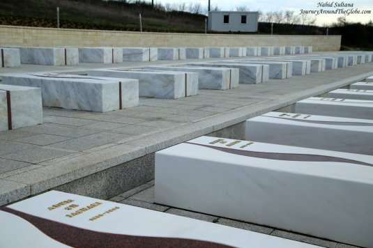 Tombs of Jashari family members who sacrificed their lives in Kosovo war in 1998
