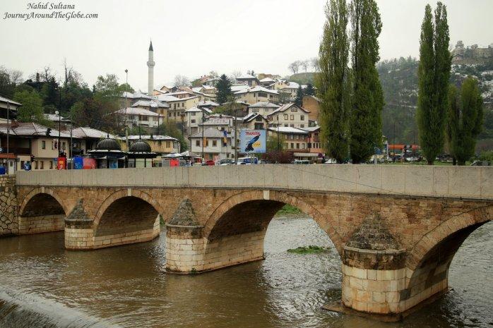 Sarajevo, the capital of Bosnia and Herzegovina