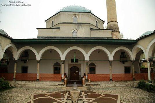 Emperor's Mosque - a 15th century mosque in Sarajevo