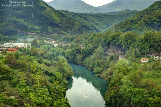 Scenic drive from Sarajevo to Mostar in Bosnia and Herzegovina