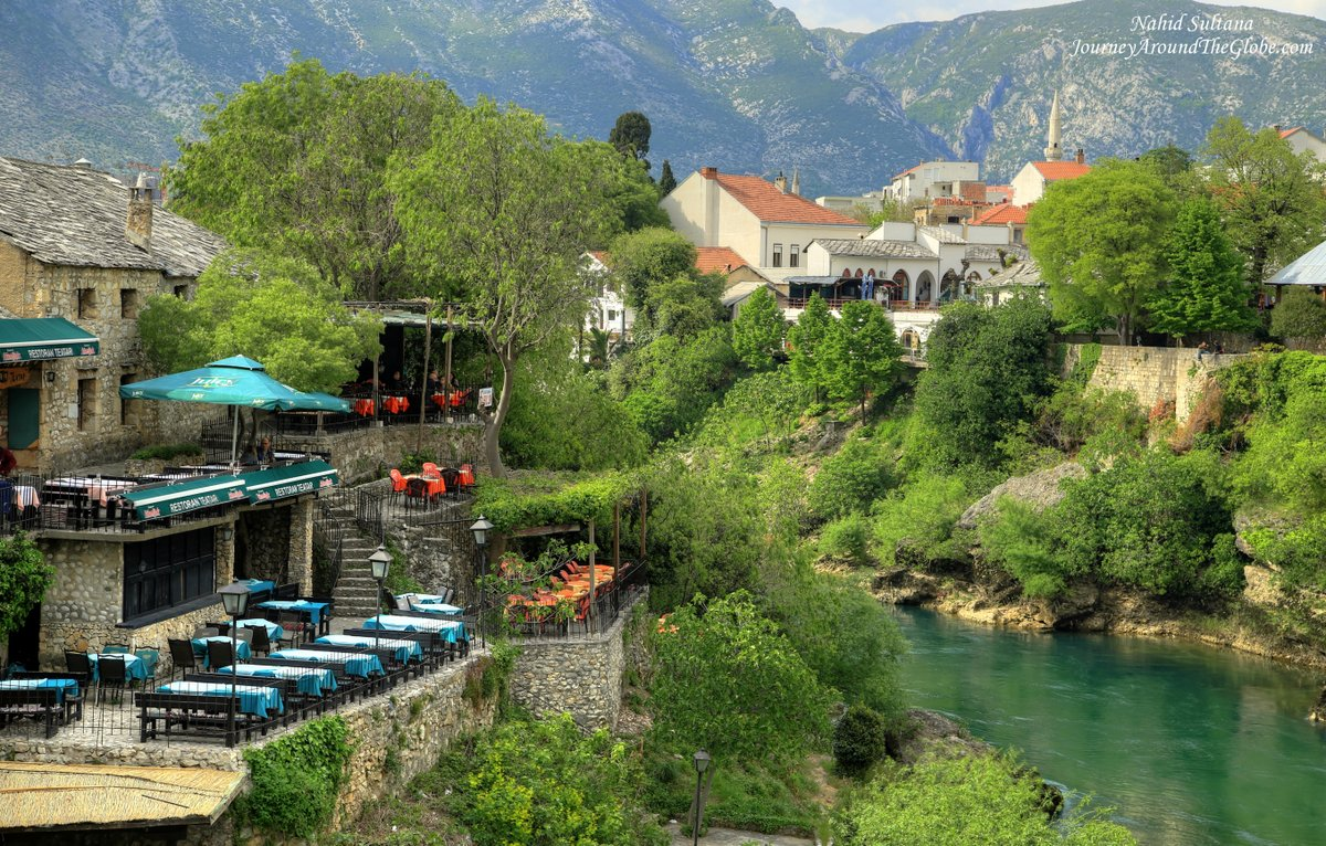 Picturesque Mostar in Bosnia and Herzegovina   Journey ... Picturesque