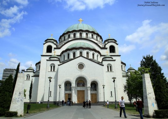 Cathedral of St. Sava in Belgrade, Serbia