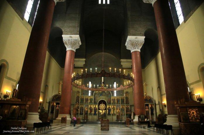 St. Mark's Church in Belgrade, Serbia