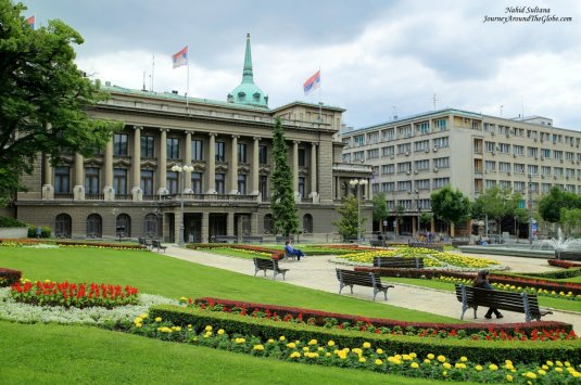 New Royal Palace - official seat of the President of Serbia