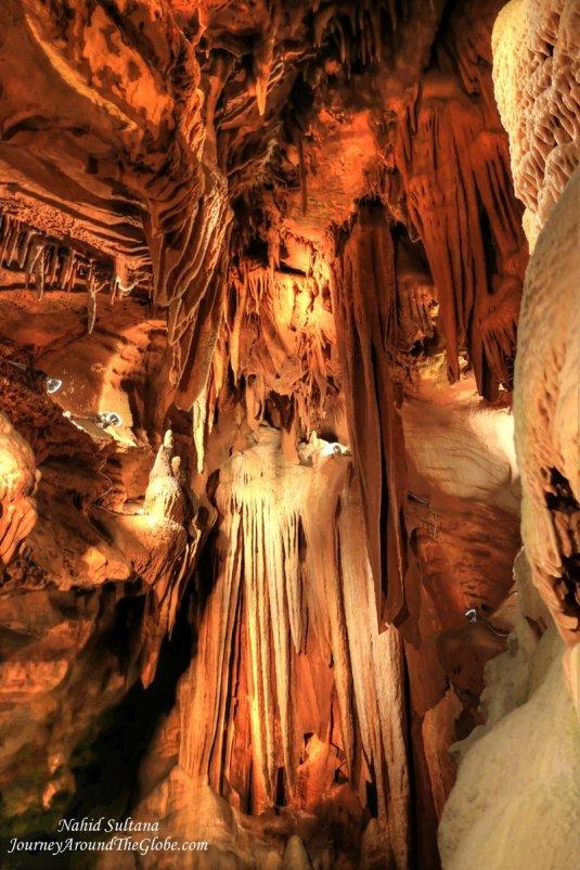 Majestic Shenandoah Cavern in Virginia