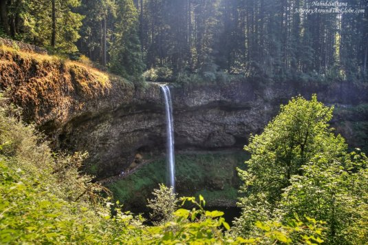 South Falls in Silver Falls State Park in Oregon