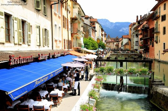 "Appealing Annecy, ""The Venice"" of France by the Alps"