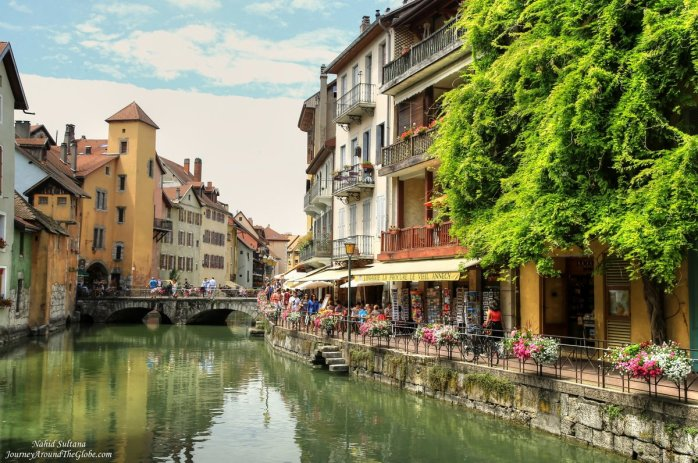 Old Town of Annecy in France
