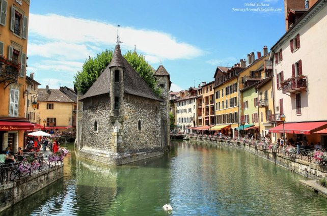 Palais de I'Ille in Annecy, France