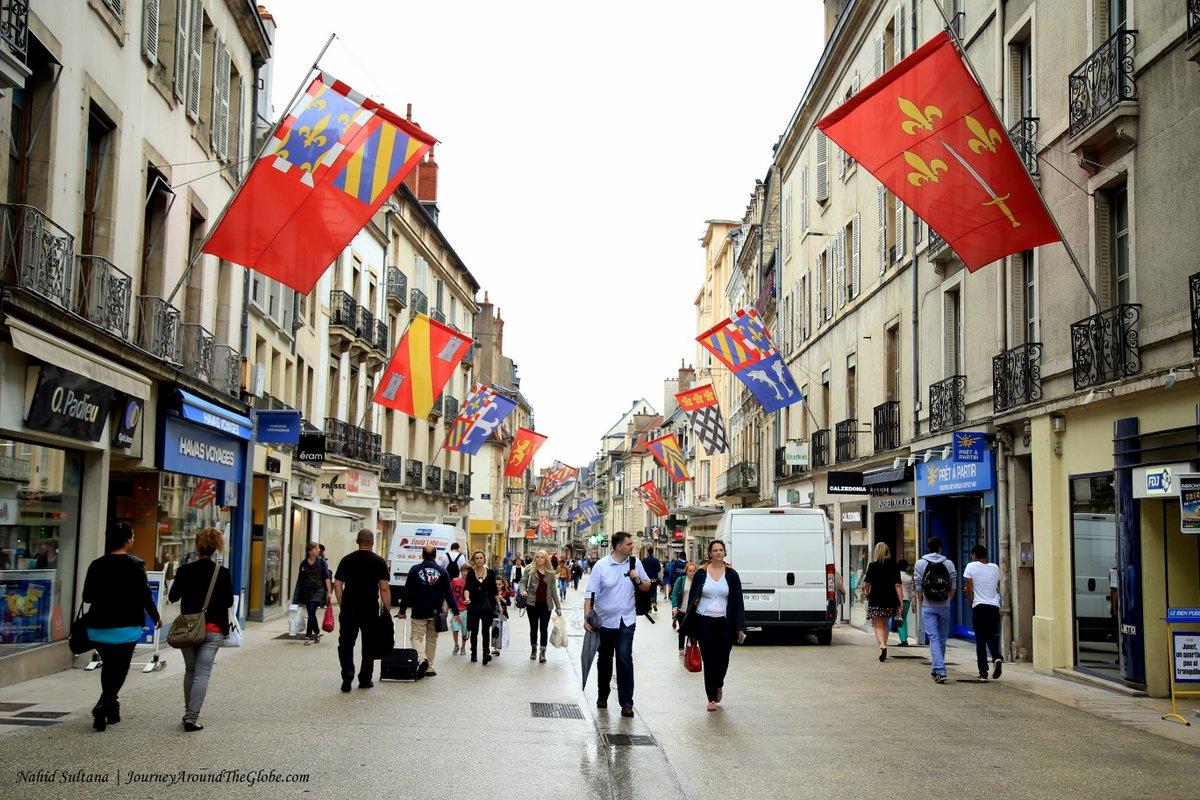 Dijon journey around the globe for Domon france