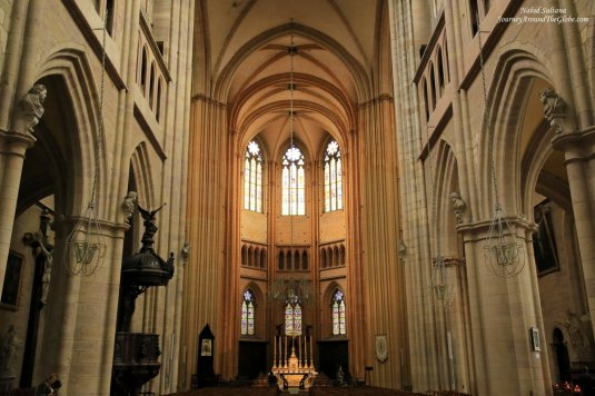 Cathedral Saint-Benigne - a 14th century Gothic cathedral in the heart of Dijon, France