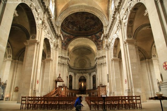 Cathedral of Nancy in France...a Gothic church from 1742.