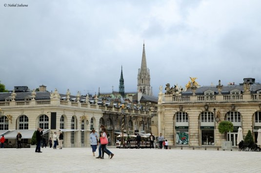 Old town of Nancy, France