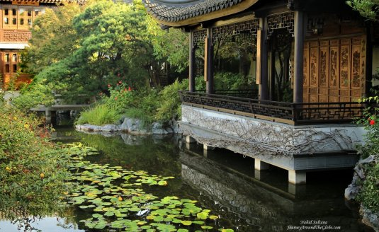 Lan Su Chinese Garden in Portland, Oregon