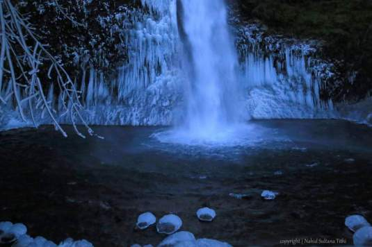 Horsetail Falls in Oregon