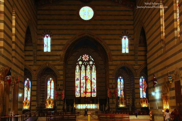 Basilica San Francesco in Siena, Italy