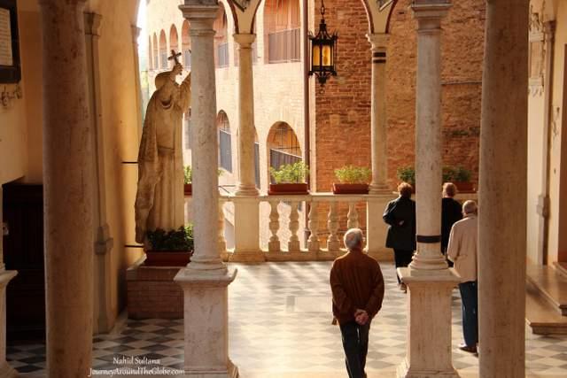 SANTUARIO di SANTA CATERINA in Siena, Italy