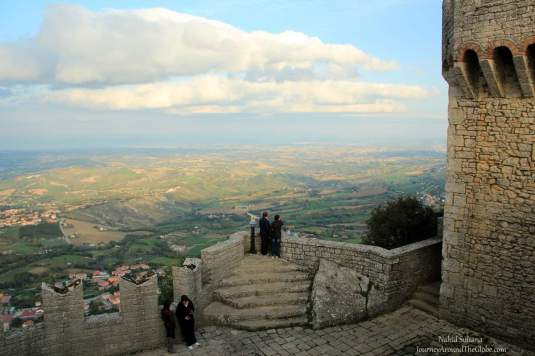 View from the 1st Tower in San Marino