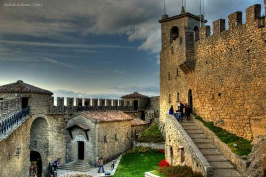 The 1st Tower of San Marino which dates back to the 13th century