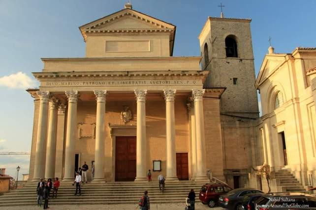 BASILICA di SAN MARINO or BASILICA del SANTO in San Marino