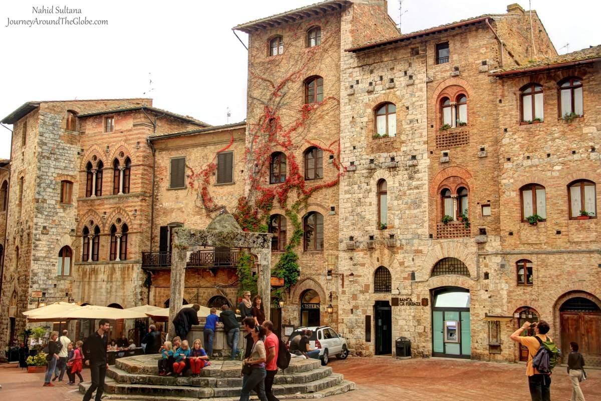 Homosexuell Cruising in San Gimignano, Toscana -