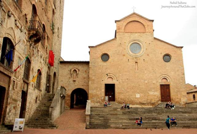 The Collegiata or Duomo in San Gimignano, Italy