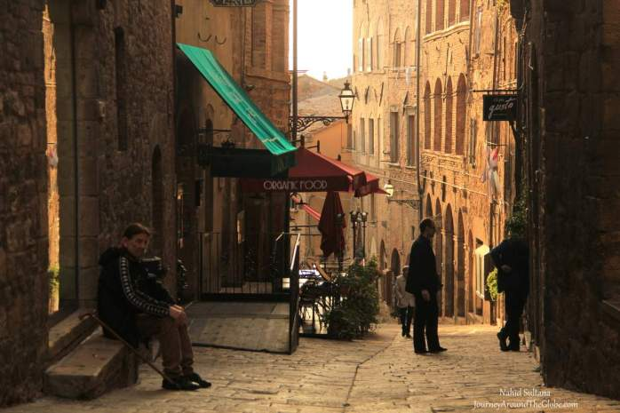 Old Town of Volterra, Italy