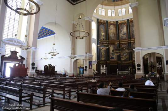 Catedral Metropolitana in San Salvador, one of the most important churches in El Salvador