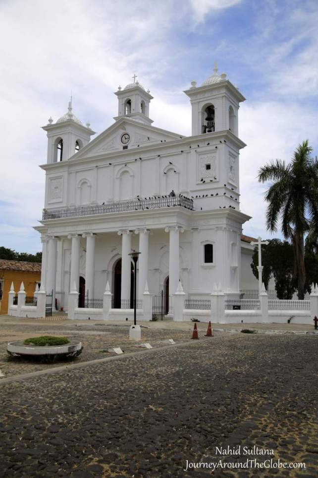 Santa Lucia Church in Suchitoto, El Salvador