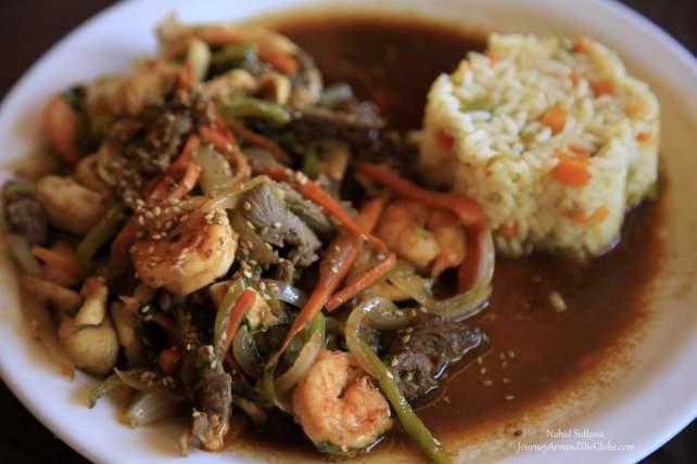 Lunch in Suchitoto, El Salvador