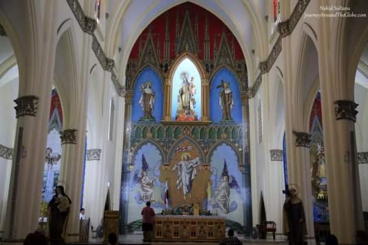 Iglesia de la Carmen in Panama City, Panama