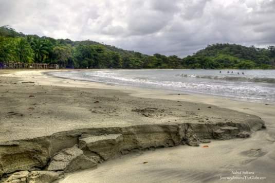 Playa la Angosta beach near Portobelo, Panama