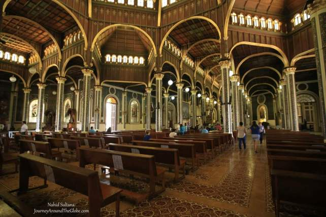 Our Lady of Angels Basilica in Cartago, Costa Rica