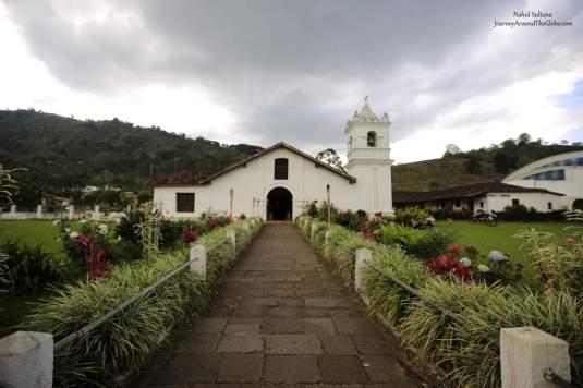 Iglesia de San Jose in Orosi Valley is an iconic church in Costa Rica