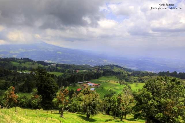 Breathtaking drive of Costa Rica